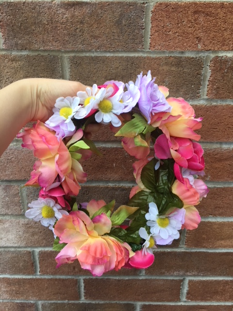 DIY Flower Crown - daisies