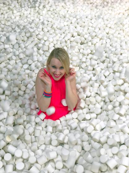 Marshmallow ball pitt