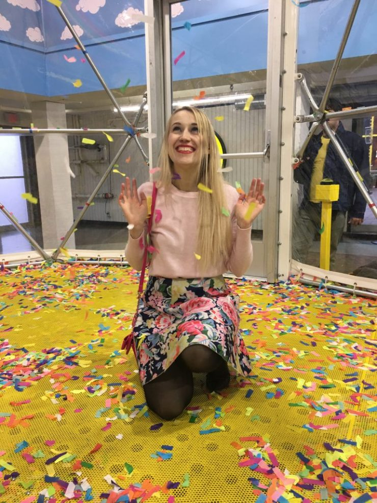 Happy Place Confetti Room