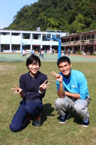 Teacher Ichi Lin and 阿里斯,