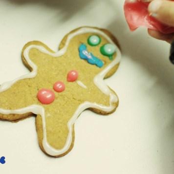 Vegan Gingerbread people