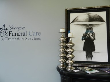 Foyer of Georgia Funeral Care.