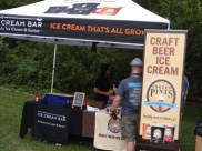 Craft Beer Ice Cream Tent