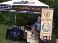 Craft Beer Ice Cream Tent