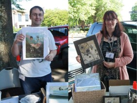 """Steve and Casi Cline, May """"Best of Show"""" winners, will be at 2 Rules Fine Art tonight for the Encore Show. Congratulations Steve and Casi!"""