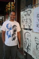 """Jamaal Barber, April """"Best of Show"""" winner, will be at 2 Rules Fine Art tonight for the Encore Show. Congratulations Jamaal!"""