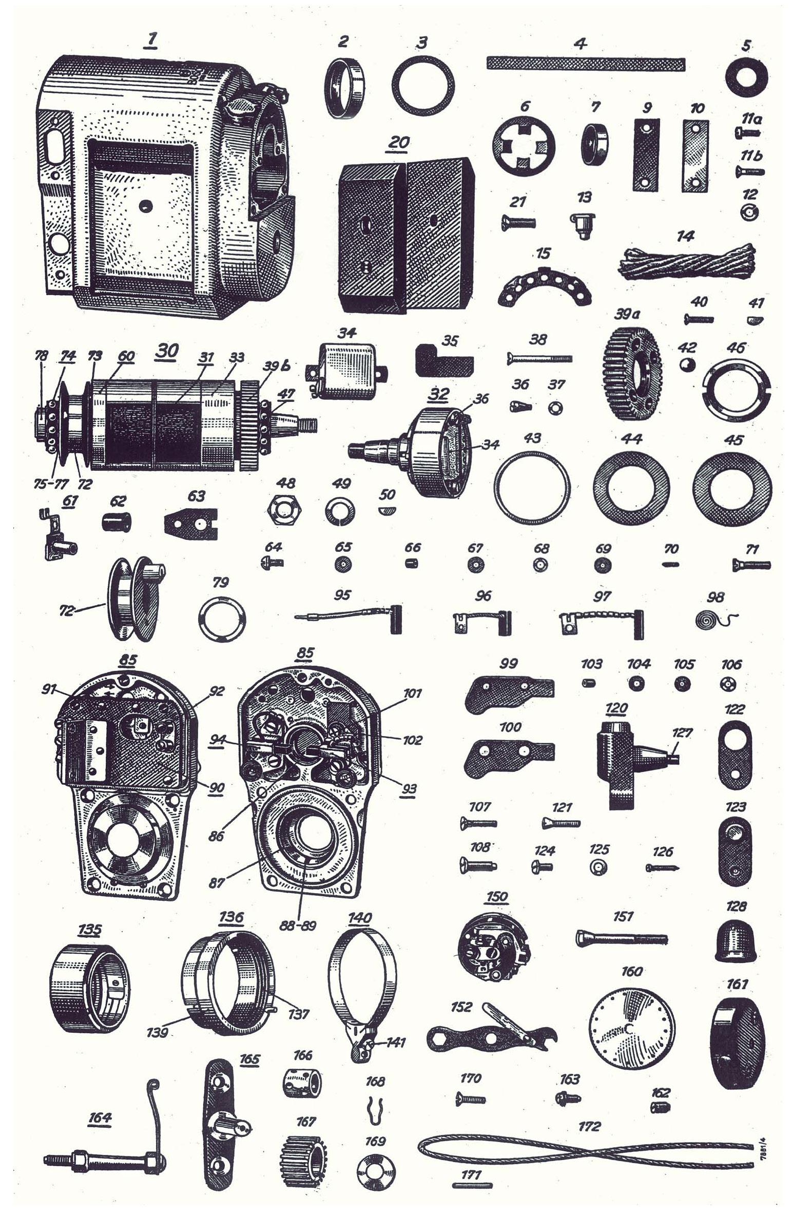 Bosch Spare Parts List