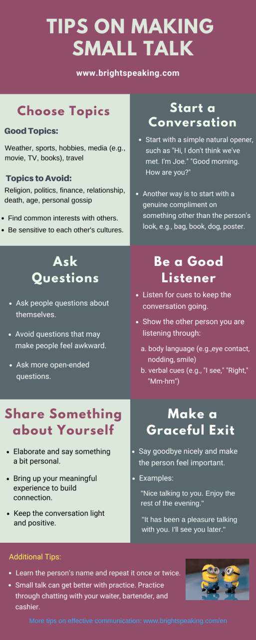 Tips On Making Small talk