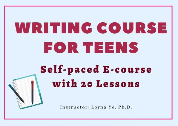 writing course for teens