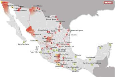 Incentive Travel - Mexico safe travel cities