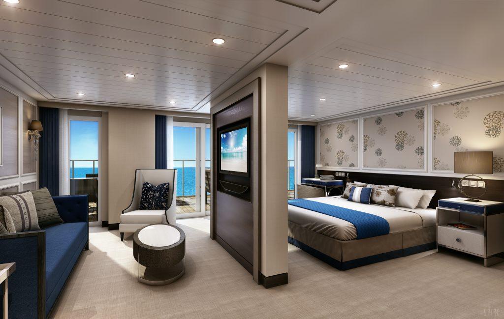 Penthouse in the Regent Seven Seas Explorer