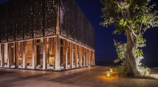 A-Kan Terrace at Night in Nizuc