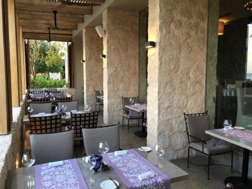 Ramona patio terrace at Nizuc