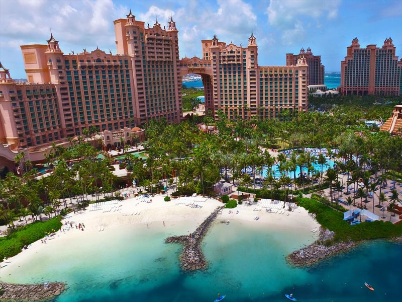 incentive trip mega resorts Bahamas Atlantis