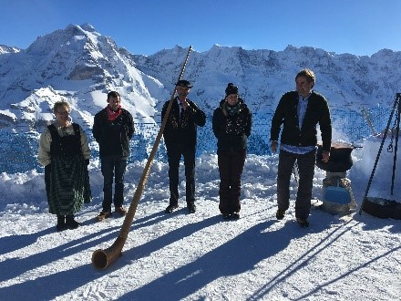 Swiss Mountain Incentive Travel Activity