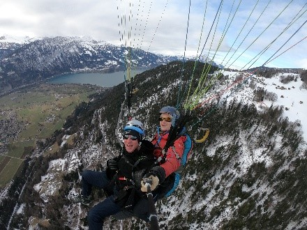 Paragliding Switzerland Incentive Travel Activity