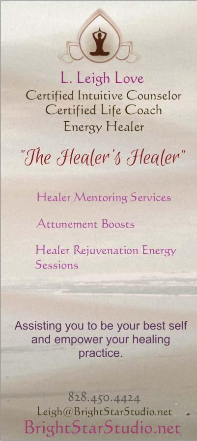 Healer Support Brochure