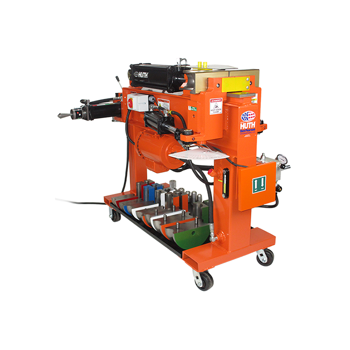 huth hb 10 hydraulic pipe and tube bender with 028 tooling kit