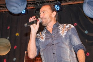 Lee Greenwood singing