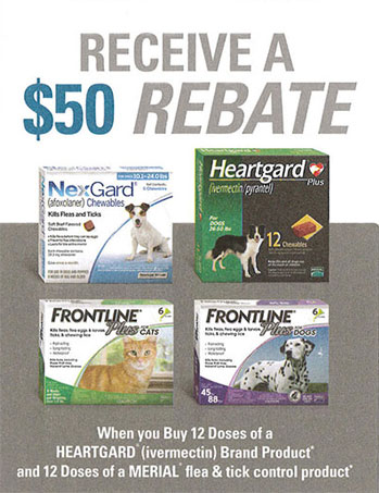 Receive a $50 Rebate