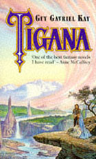 UK 1st paperback edition of Tigana