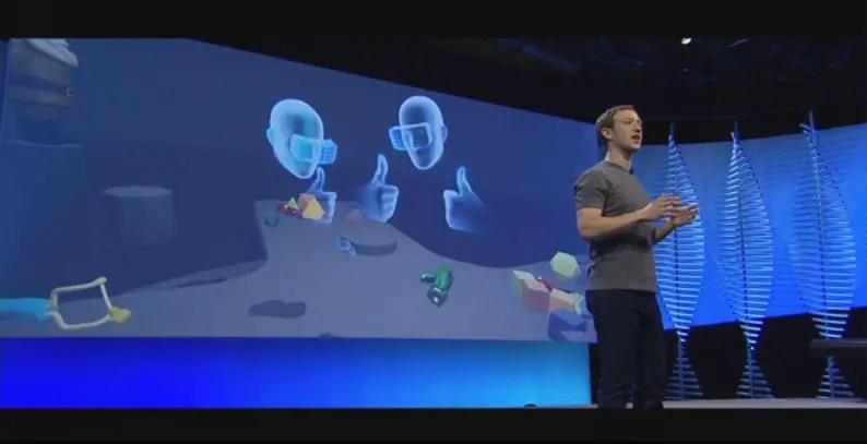 F8 Developers Conference Mark Zuckerburg