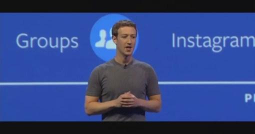 F8 Developer Conference Mark Zuckerburg