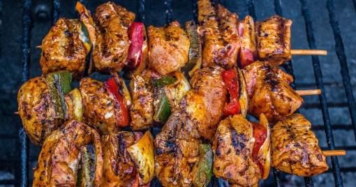 barbecue kebab