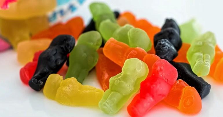 jelly babies calories