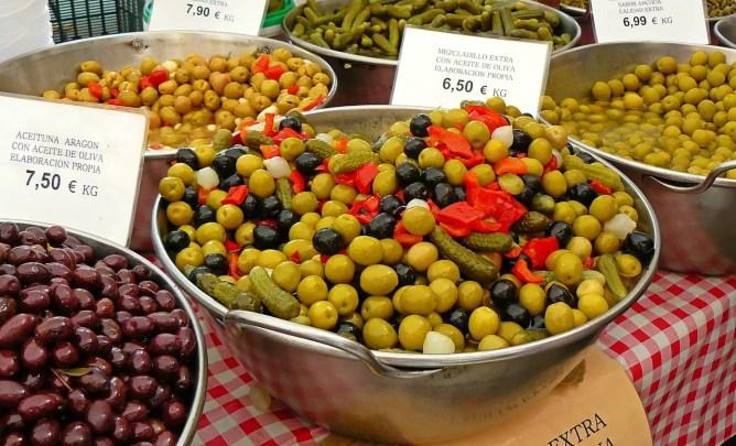 olive drupe