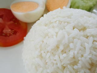 rice with eggs