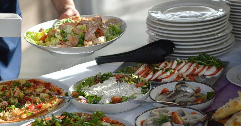 salad brunch