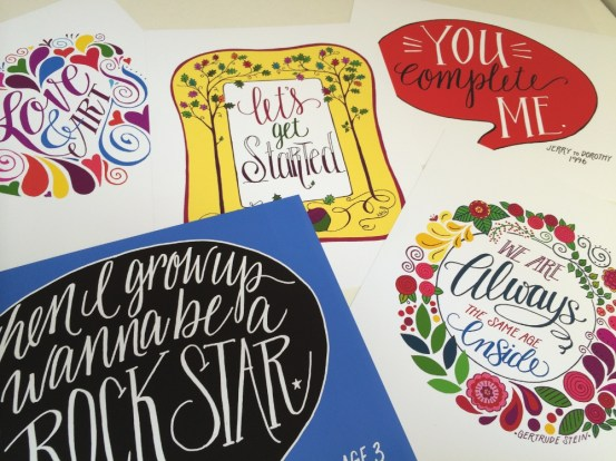 Handlettering and Illustration