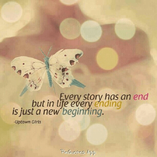 end new beginning