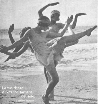 La tua danza e l'eterno sorgere del sole