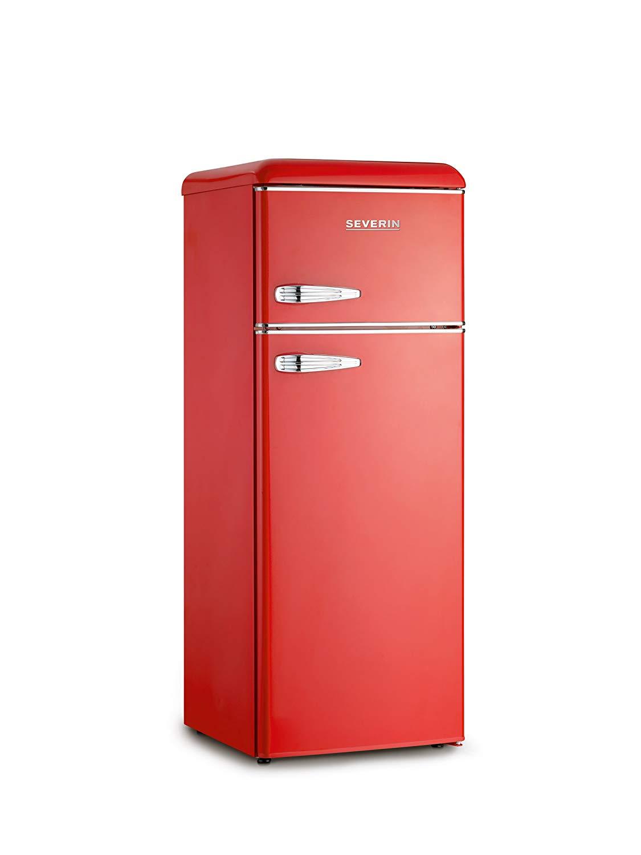 Frigorifero Americano Anni 50 frigo frigorifero doppia porta 212 litri a++ estetica