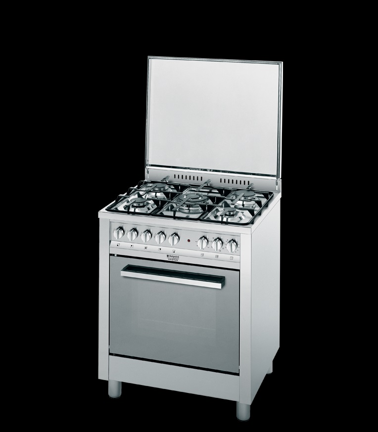 Cucina 60×60 inox Hotpoint Ariston linea professionale CP77SP2/HAS ...
