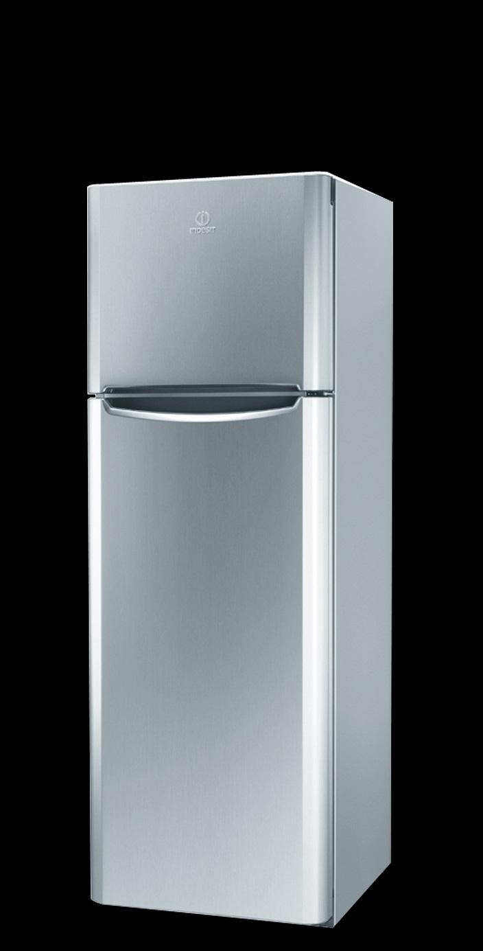 Frigorifero congelatore doppia porta silver classe a 175 60 indesit tiaa12vsi - Frigoriferi doppia porta classe a ...