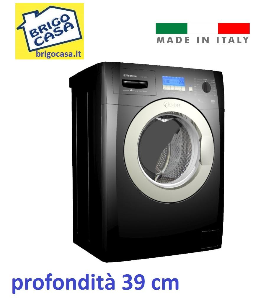 Lavatrice 5kg 1000 Giri A++ Profonda 39cm Colore NERO, MADE IN ITALY Ardo  FLSN105LB U2013 Lavatrici Foligno