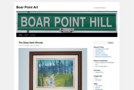 Boar Point Art