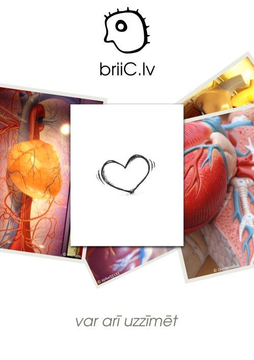 briiC.lv | var arī uzzīmēt | sirds
