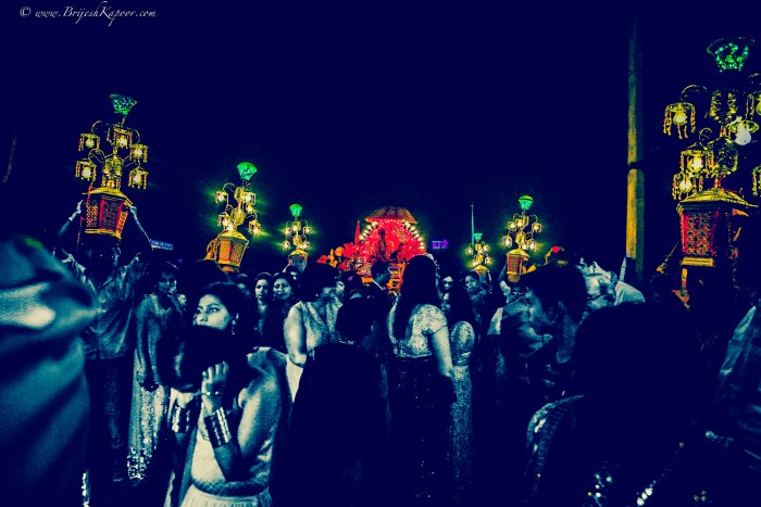 CANDID WEDDING PHOTOGRAPHY SHOT BY BRIJESH KAPOOR OF A BARAAT IN A HINDU MARRIAGE