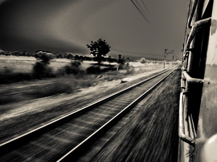 INDIAN RAILWAYS NIGHT SHOT BY BRIJESH KAPOOR PHOTOGRAPHY