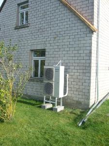 воздушный тепловой насос для отопления дома
