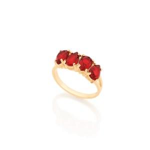 512423-anel-aro-fino-lateral-vazada-4-gota-cristal-vermelho-joia-rommanel-dia-das-maes-2017-brilho-folheados