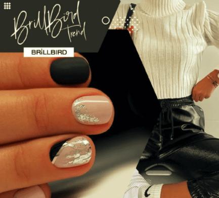Metal Line Sticker Silver - Brillbird България - Самозалепващи Стикери За Нокти