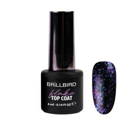 FLAKE TOP COAT LILA
