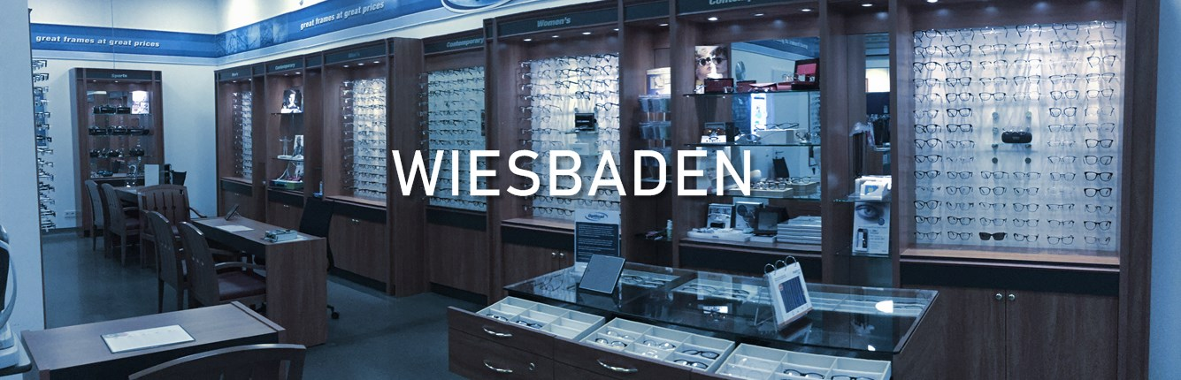 Brillen Voigt Optical Center in der US Army-Kaserne in Wiesbaden