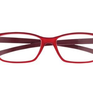 Leesbril Proximo PRII057 C14 rood +2.50