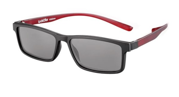 LookOfar Leesbril Le 0191A Florida zwart sterkte +2.00